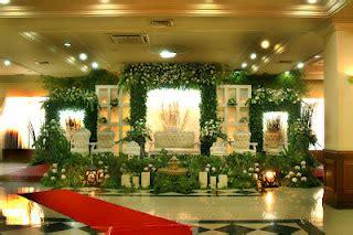 topaz wedding harga pelaminan gebyok minimalis