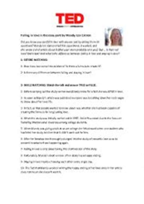 ted talk worksheet answers worksheets ted talk worksheets