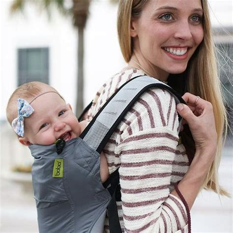 Boba Air The Lightest Carrier Gray lightweight boba air infant baby carrier grey boba boba inc