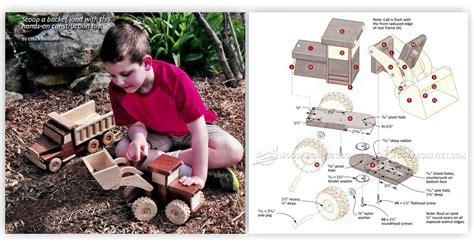 wooden front  loader plans woodarchivist