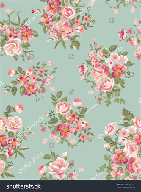vintage floral pattern vector background vintage floral flower seamless pattern background stock
