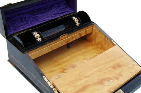 lap desk near me near pair of late 19th century brass bound coromandel wood