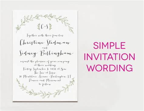 wedding invitation wording creative and traditional a practical wedding
