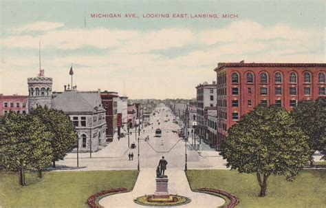 Capital Cadillac Lansing Mi by 74 Best Vintage Postcards Images On Post Cards