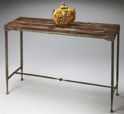 industrial chic console table 2886120 industrial chic mountain lodge console table from