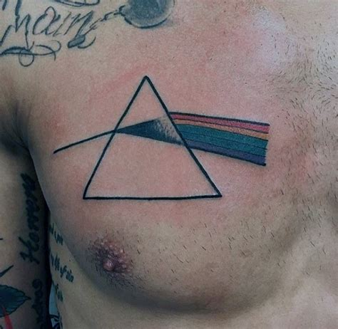 dark side of the moon tattoo 80 pink floyd tattoos for rock band design ideas