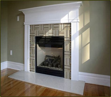 Ceramic Tile For Fireplace Surround by 18 Glass Bathroom Tiles Ideas Cracked
