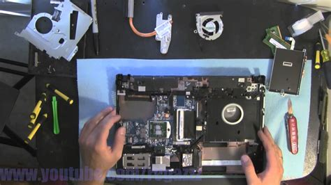 reset bios hp probook 4520s hp probook 4420s take apart video disassemble how to