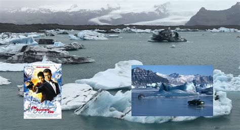 film frozen lake die another day car chase on frozen lake filmed in iceland