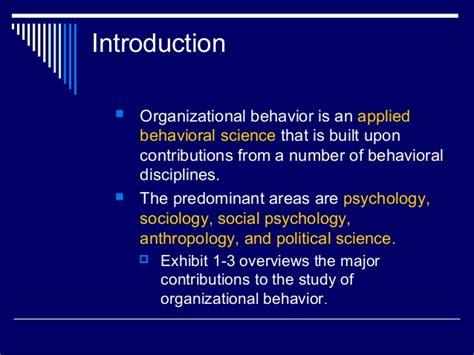 design guide for the built environment of behavioral health organizational behavior chapter one