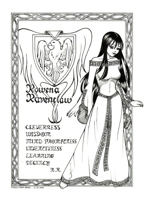 coloring pages harry potter ravenclaw 116 best images about colouring harry potter style on