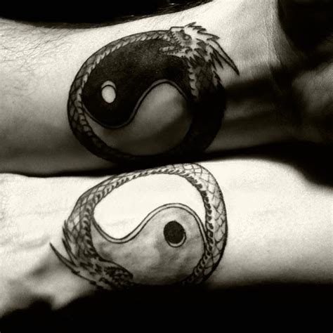 yin yang tattoos couples 103 best yin yang images on yin and yang