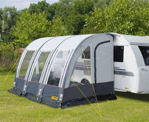 reimo awning caravan annex tent rimini air 390 with air frame 900013