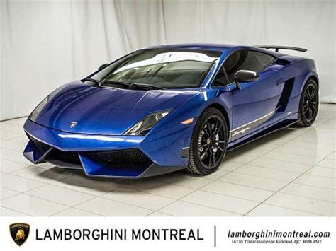 Lamborghini Gallardo For Sale by 17 Lamborghini Gallardo Superleggera For Sale Dupont