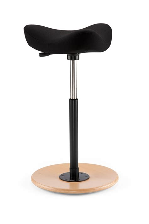stokke zero schwerkraft stuhl move by varier bluecony ergonomic standing stools and