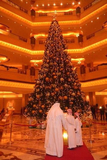 emirates palace hotel unveils most expensive christmas