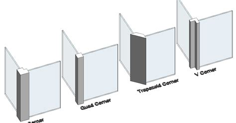 curtain wall types revit recess curtain wall mullion types