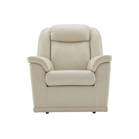 g plan electric recliner chairs g plan milton electric recliner in leather at smiths the
