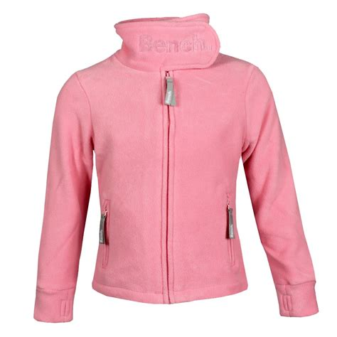 bench mode bench m 228 dchen funnel neck fleecejacke sweatjacke babyrosa
