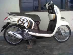 Gambar Honda Scoopy Gambar Modifikasi Motor Honda Scoopy Terbaru Modifikasi