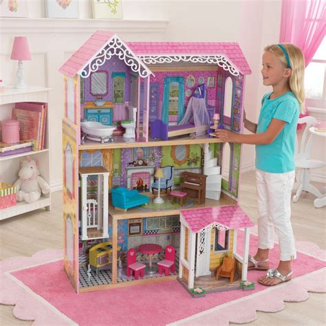 Kidkraft Cottage by Kidkraft Sweet Pretty Dollhouse 65859 Play Houses