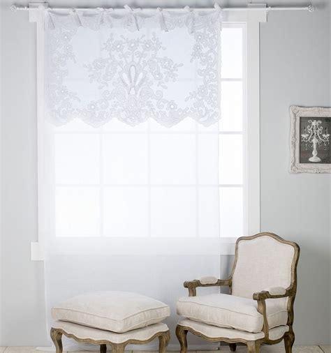 tende ricamate ad intaglio oltre 25 fantastiche idee su tende di lino bianco su