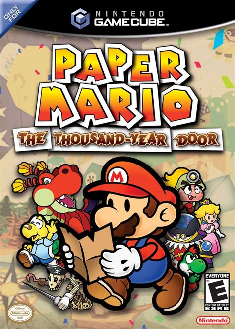 Paper Mario And The Thousand Year Door paper mario the thousand year door iso