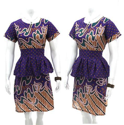 Baju Batik Lebaran Trend Baju Batik Wanita Terbaru Busana Lebaran Anda Gaya