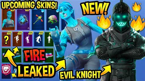 upcoming fortnite skins concepts evil