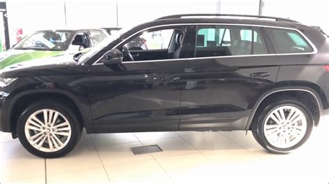 skoda kodiaq black 2017 skoda kodiaq se l in black magic abc car 1