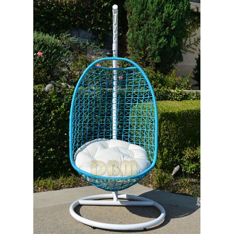 rattan egg swing chair wicker rattan swing bed chair weaved egg shape hanging