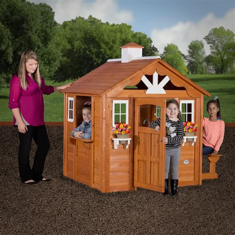 backyard discovery summer cottage play house outdoor
