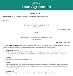 loan agreements templates 20 loan agreement templates word excel pdf formats