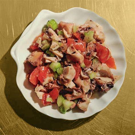 insalata di piovra e sedano insalata di piovra martolina in cucina