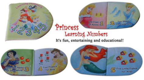 Buku Anak Princess Aziza N princess learning number grosir buku bantal buku