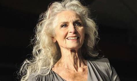 80 year old women long hair daphne selfe the world s oldest supermodel on the fashion
