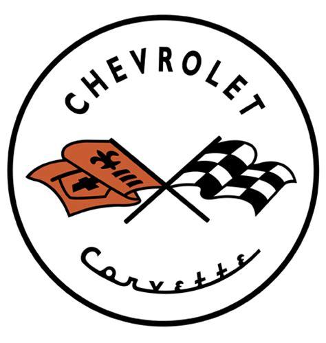 vintage corvette logo a visual history of corvette logos part 1 core77