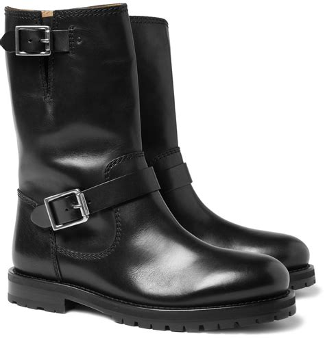 leather motorcycle boots jimmy choo cool men s shoes