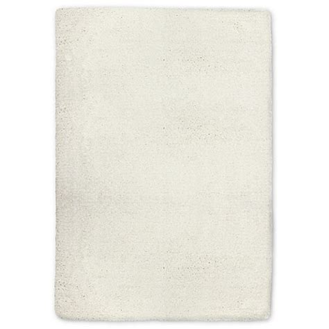 carpet deco microfiber bath rug carpet deco universal microfiber shag rug in white