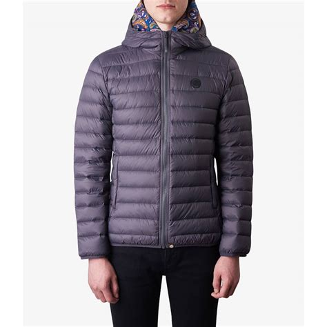 Quilted Hooded Jacket by Lightweight Quilted Hooded Jacket Pretty Green Shop