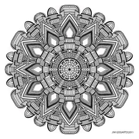 the mandala coloring book by jim gogarty drawing mandalas free bondmixe