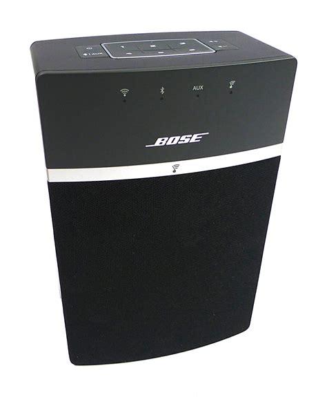 Bose Soundtouch 10 Wireless Speaker Bose 416776 Soundtouch 10 Wireless Speaker Black Ebay