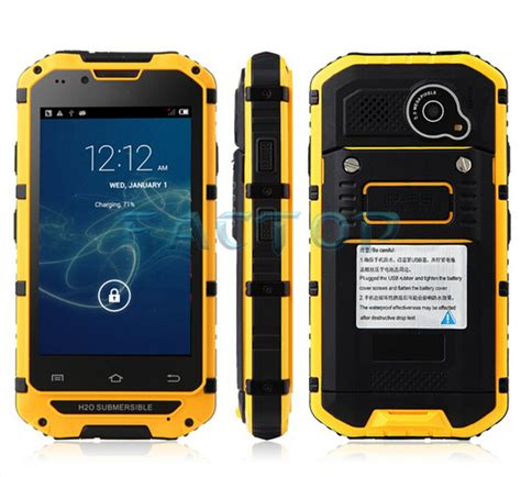 rugged mobile india best rugged mobile phone india a9 4 3inch ip67 waterproof dustproof and shockproof buy best