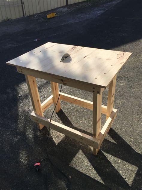 diy table   circular  table  diy