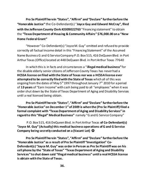 rico federal complaint defendant s antoine l freeman j d attor rico federal complaint defendant s antoine l freeman j