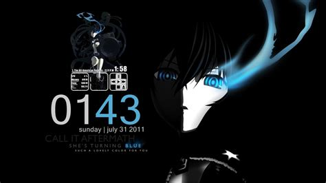 black rock shooter rainmeter skin black rock blackout by seraphimax on deviantart