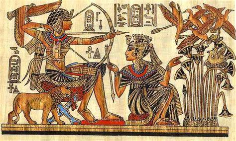 imagenes literatura egipcia el arte egipcio