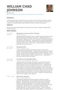 Church Communications Director Sle Resume by Marketing Communications Manager Resume Sles Visualcv Resume Sles Database