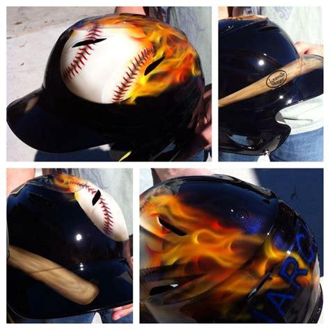 boys baseball schlafzimmer custom airbrush baseball helmet by kris dean my airbrush