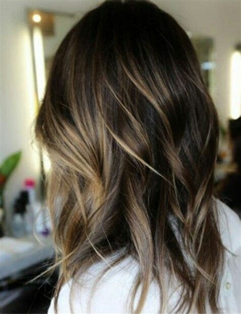 winter highlights for brunettes 111 best winter fall hair colors 2016 2017 images on